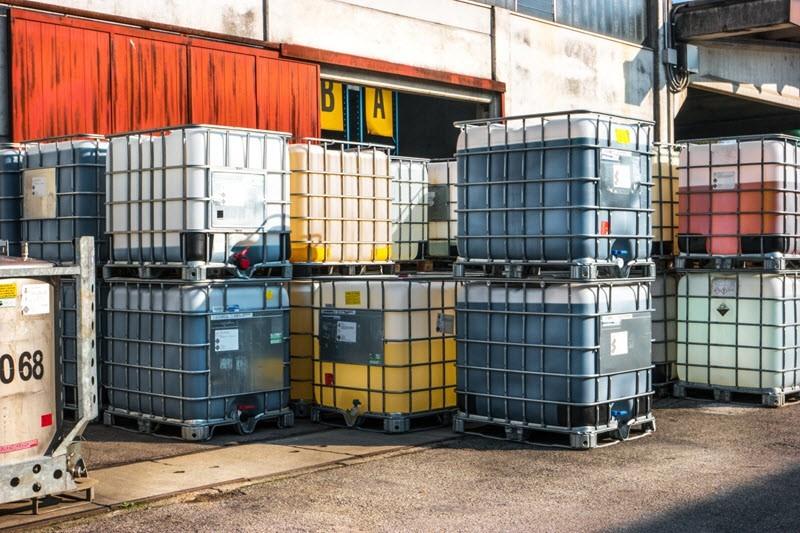 Contenedores de Productos Químicos