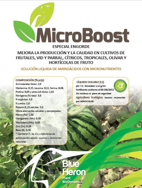 Engorde Frutos: Microboost